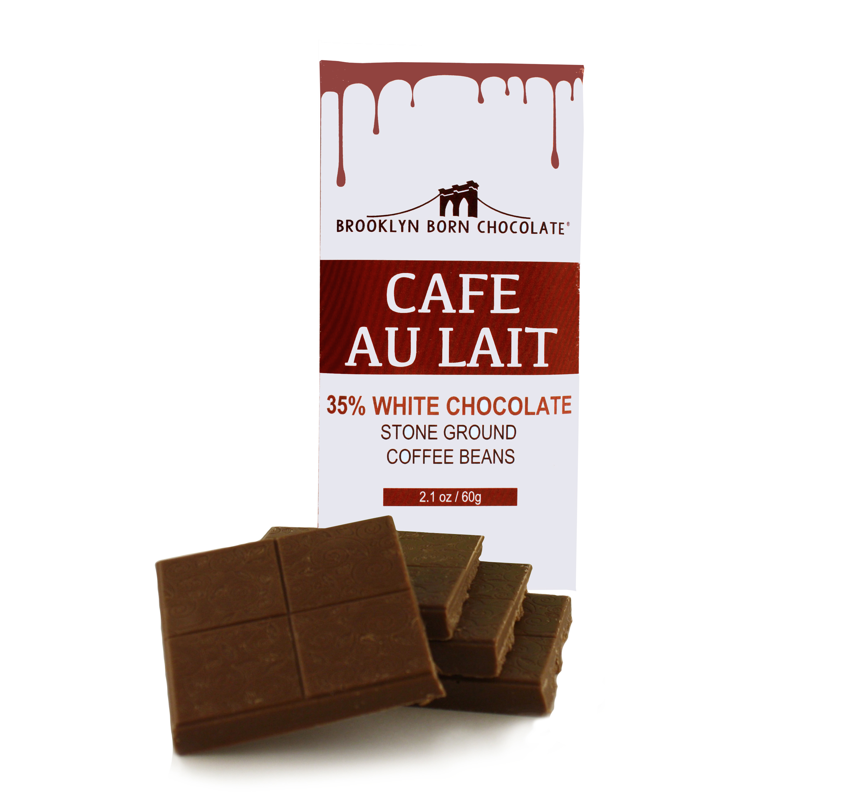 Café Au Lait Chocolate Bar