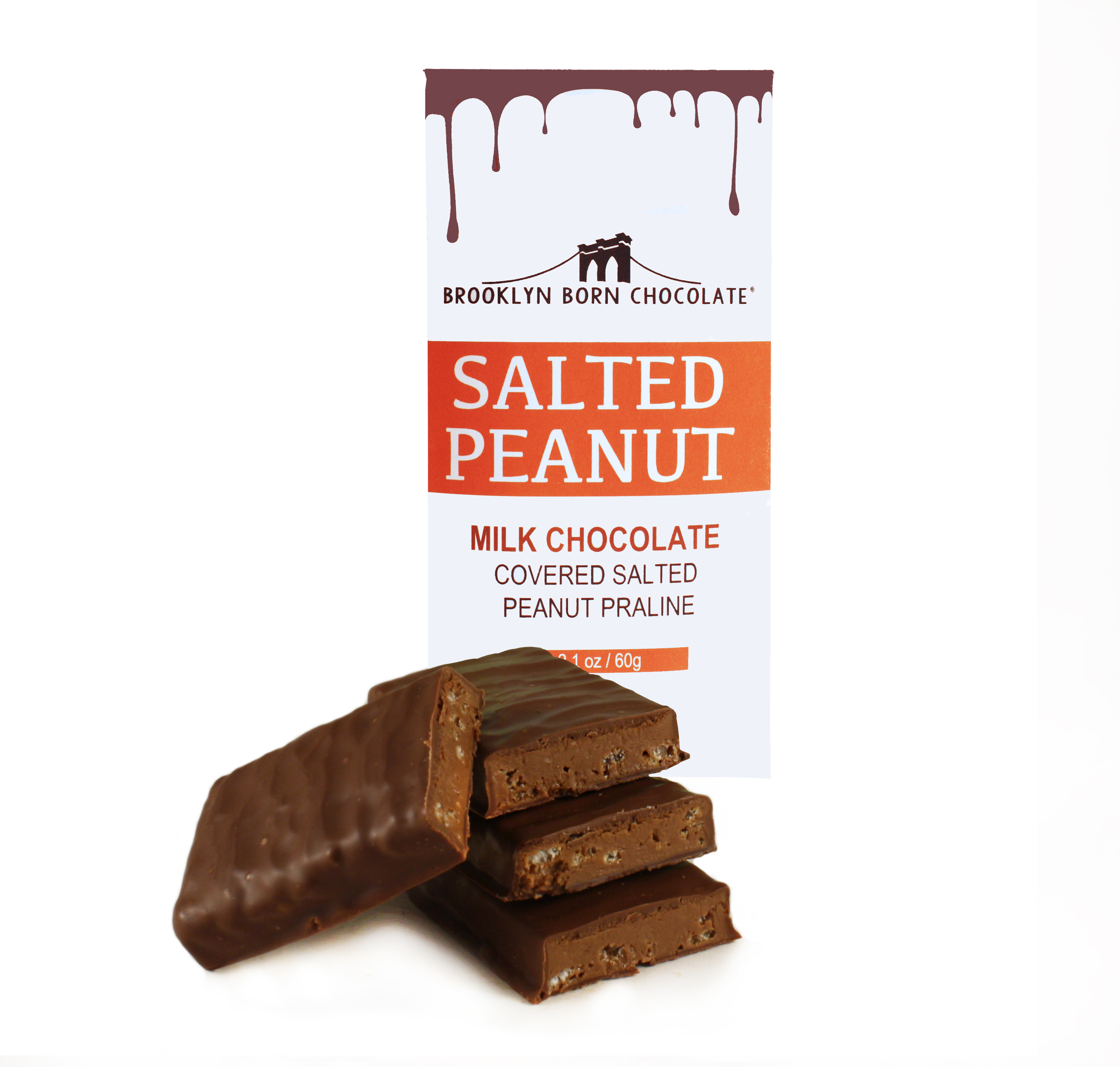 Salted Peanut Chocolate Bar BRPB