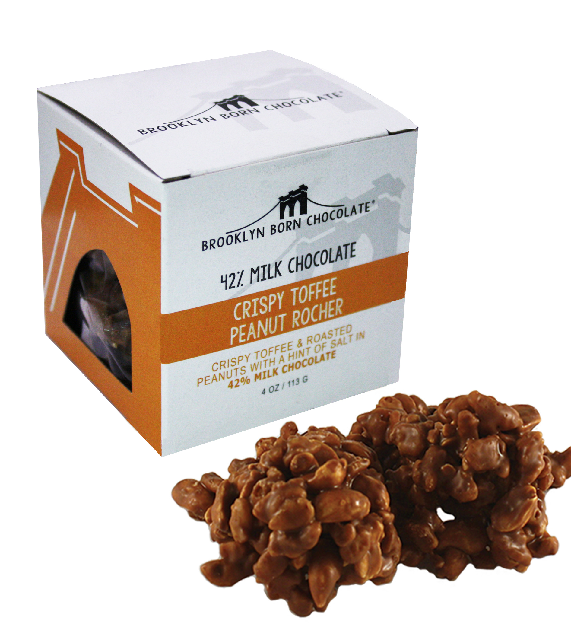 Crispy Chocolate Toffee Peanut Rocher CUPR