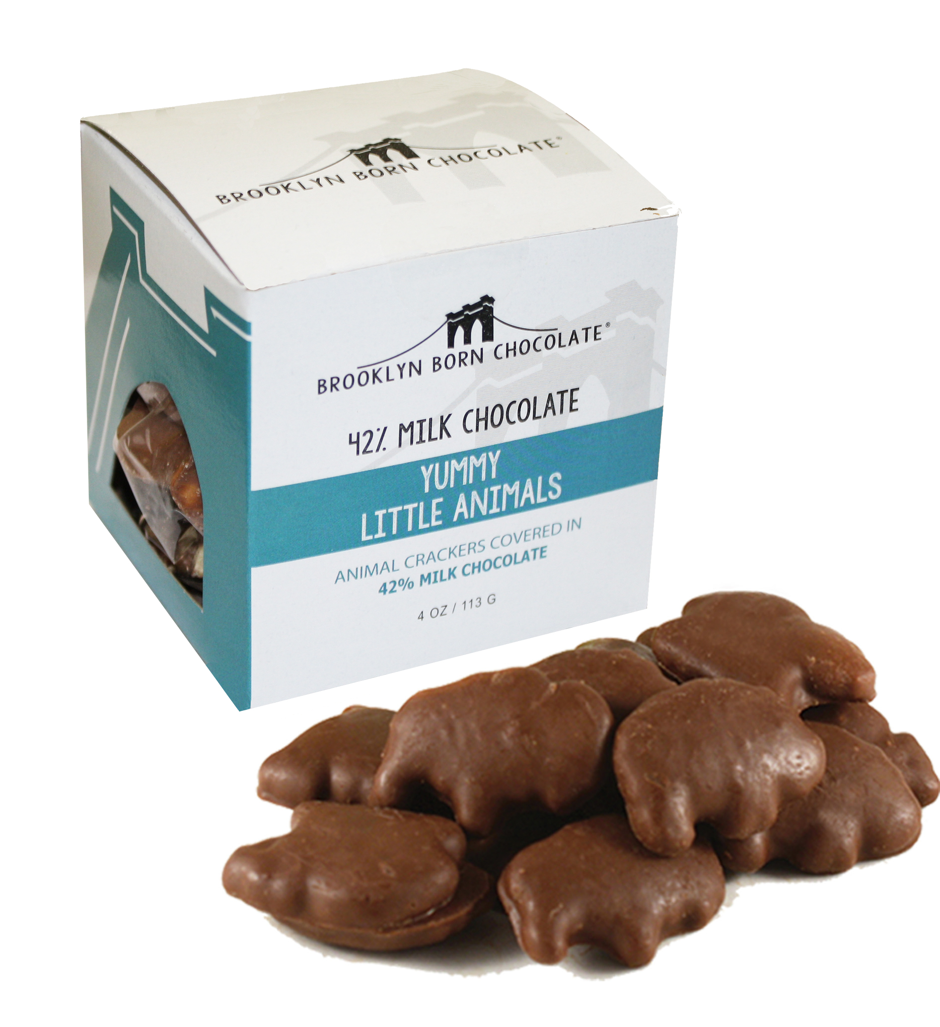 Chocolate Covered Animal Crackers CUAN